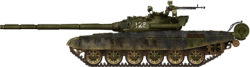 Stridsvogn T-72B3