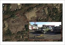 Volvolastbil som transporterade missilsystemet Buk