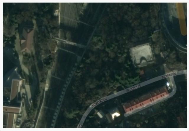 Bild på järnvägssträckan