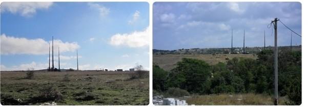 Kraftfulla ryska teleskopmaster på Krim