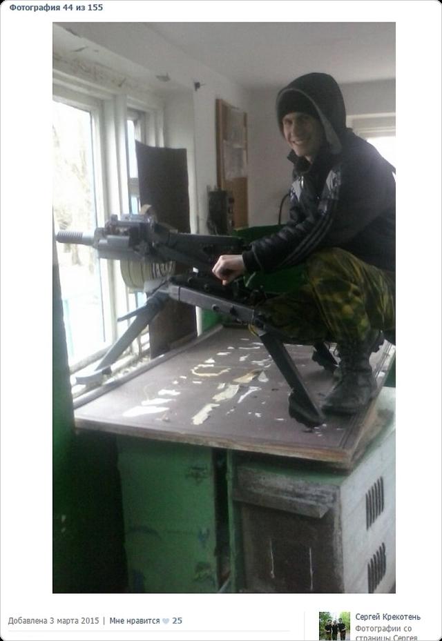 Bostadshus för skydd av ryska trupper i staden Pervomaisk