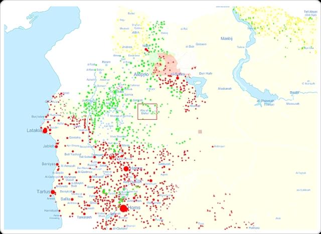 Syrienkarta