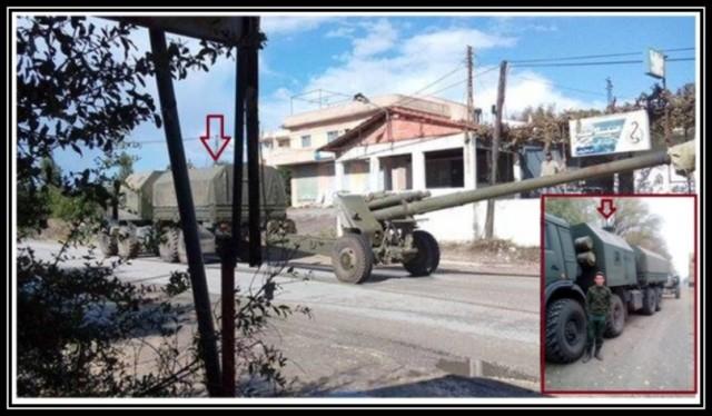 En russisk artilleridivisjon