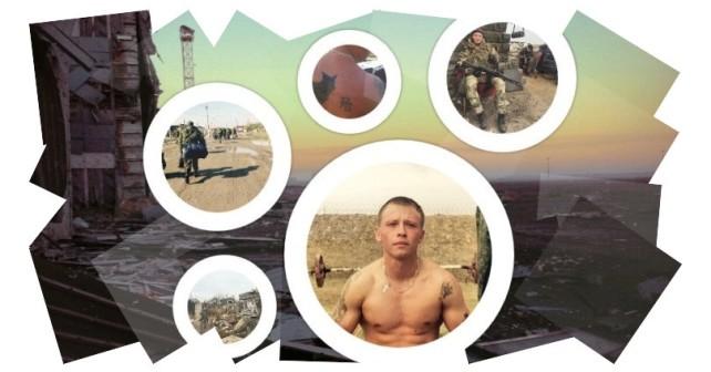 Den ryska 46:e spaningsbrigadens soldater