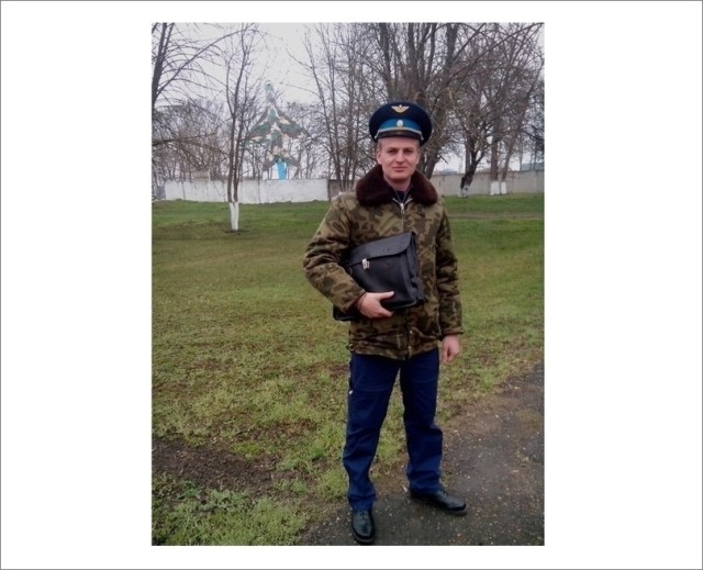 Löjtnant Alexandr Goltsov, 3:e klassens pilot