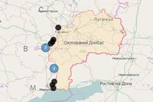 Dynamisk karta från UkrMonitor