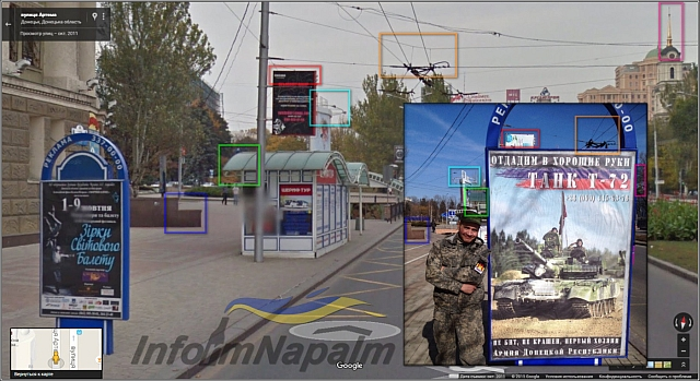 Staden Donetsk i Donbass