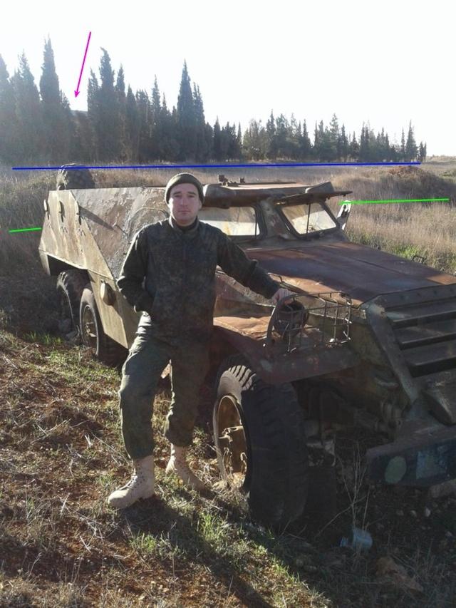 Bepansrad personalbärare BTR-152