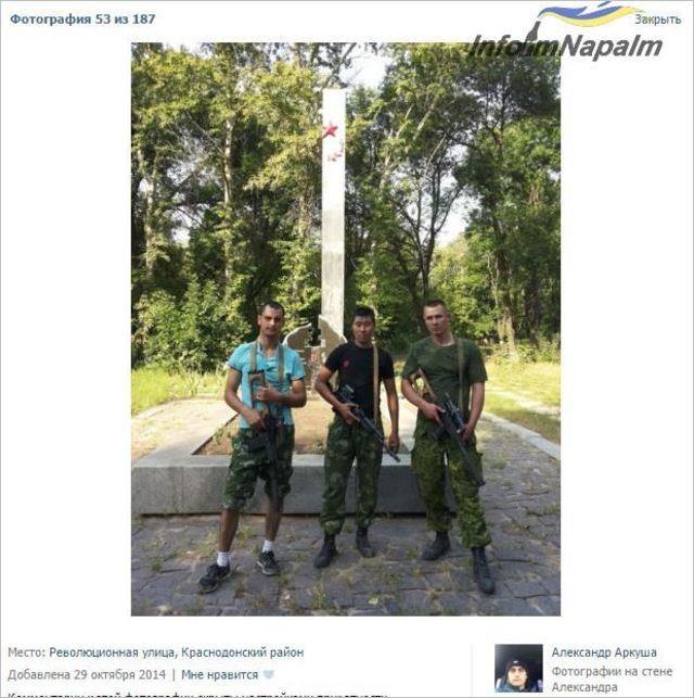Ryska legosoldater i Donbass