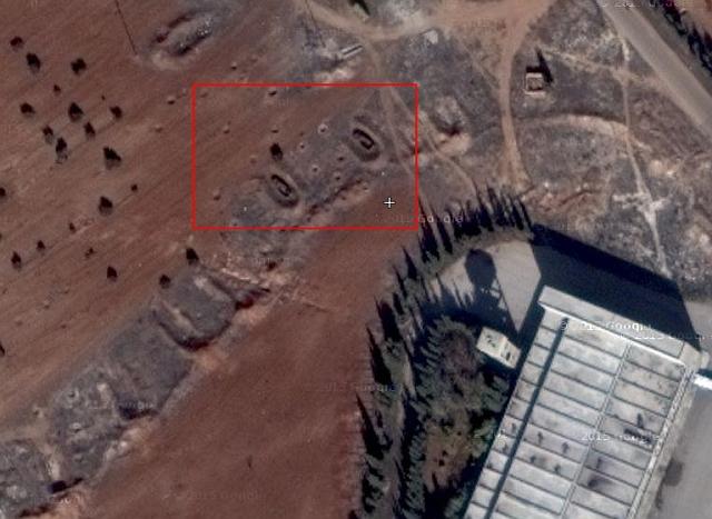Kaponjärer i Syrien