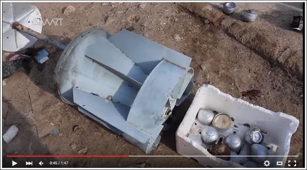 Klusterbomb i Syrien