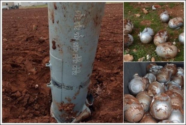 Fosforbomb i provinsen Idlib