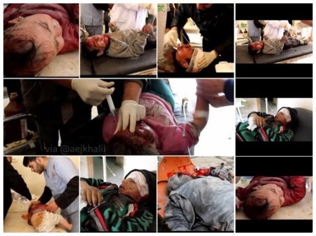 Efter en rysk bombning av en barnklinik