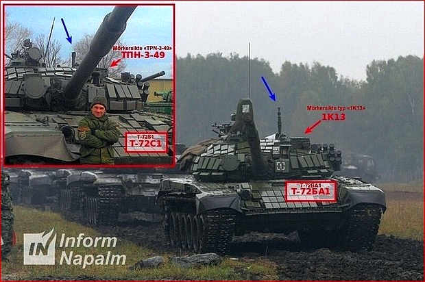Stridsvagn T-72S1