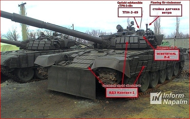 Modifierad T-72B1