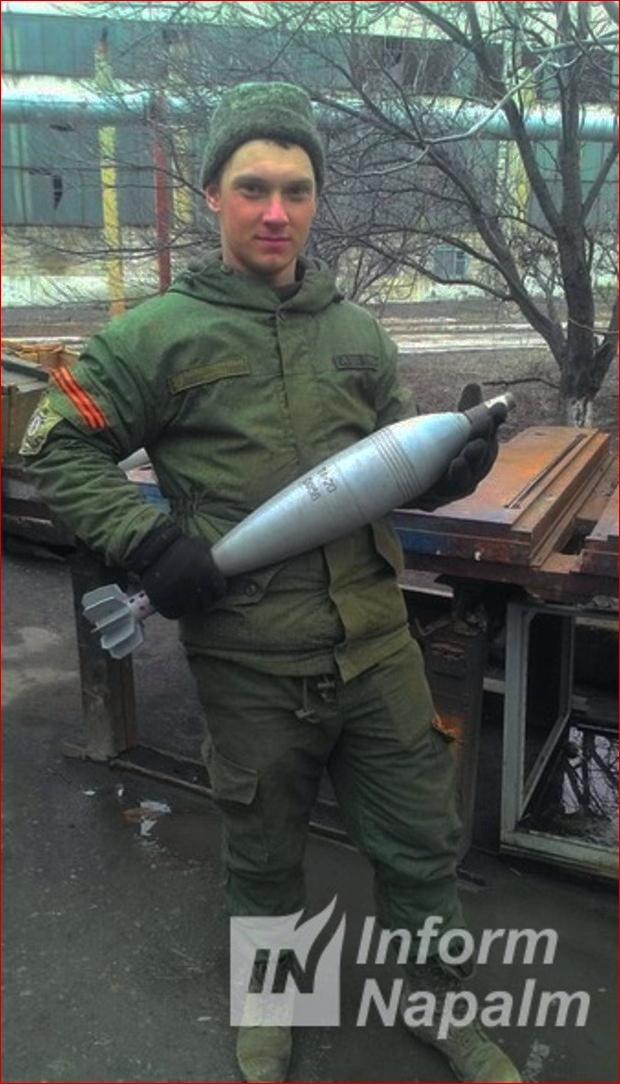 Bogdan Sevastjanov med ammunition