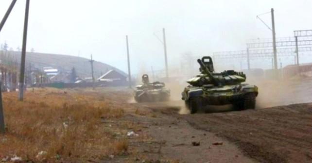 Förkommen T-72B från Ulan-Ude
