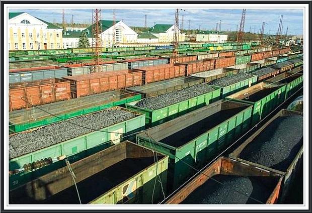 De ryska järnvägarna RZhD