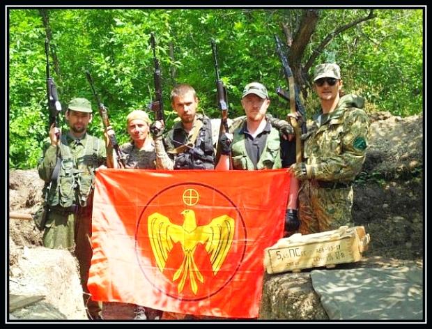 Ammunition till separatister i Donbass