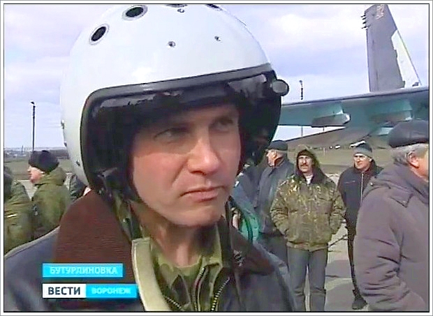 SU-34-piloter som kan bli anvendt i et angrep mot Ukraina