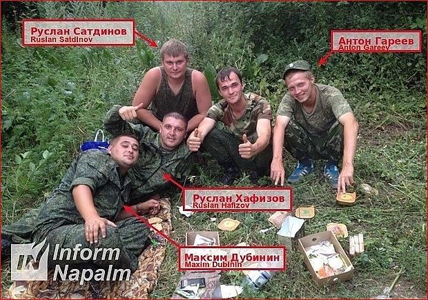 Den ryska 18:e brigadens artilleriattacker mot Ukraina