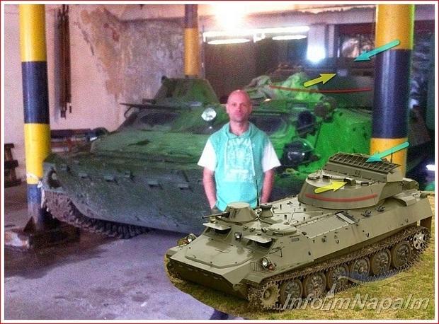SNAR-10 Leopard radarstasjon i Donbass