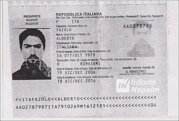 Fazolo Alberto, född 26/10/1979