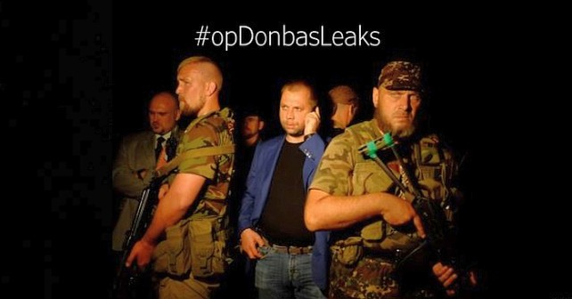 Kontraktssoldater i Donbass