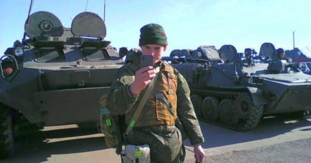 En rysk inkräktares Gudauta-Rostov-Donbass-Khmeimim-tripp