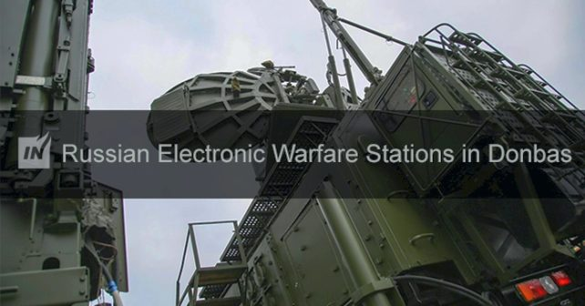 Ryska EW-stationer i Donbass