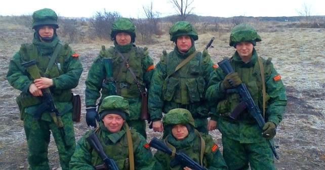 Nationalgardet bland pro-ryska formationer i Donbass