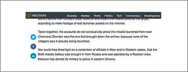 Reuters reporter diskuterar MH17-kraschen