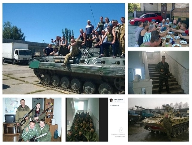 Russisk mobilfeltsygehus i byen Jasynuvata
