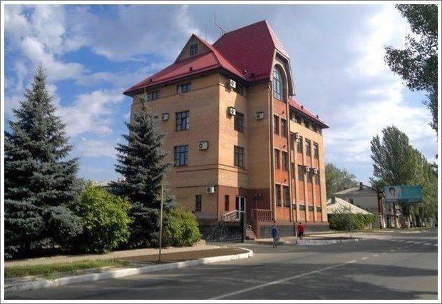 Mobilfältsjukhuset AP-2 står vid byggföretaget Ukragropromstroi