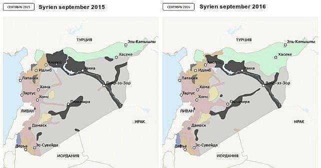 InformNapalms krönika: Ett år av Rysslands förstörelse av Syrien