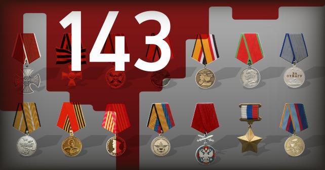 Utmärkelser för den ryska arméns krigsförbrytare