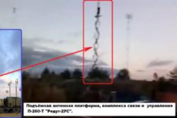 Rysk Ka-52-helikopter råkar avfyra raketer mot fordon på Zapad-2017