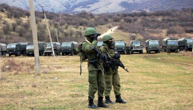 Rysk politik på ockuperade Krim
