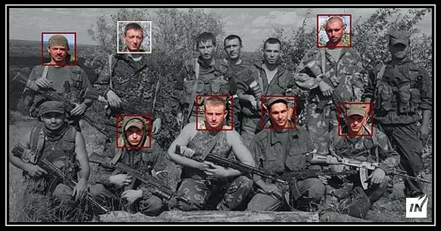 Tio yrkessoldater som har deltagit i ockupationen av Krim och Donbass