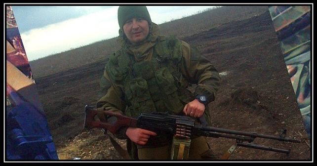 Viktor Agejev tillhör den ryska armén