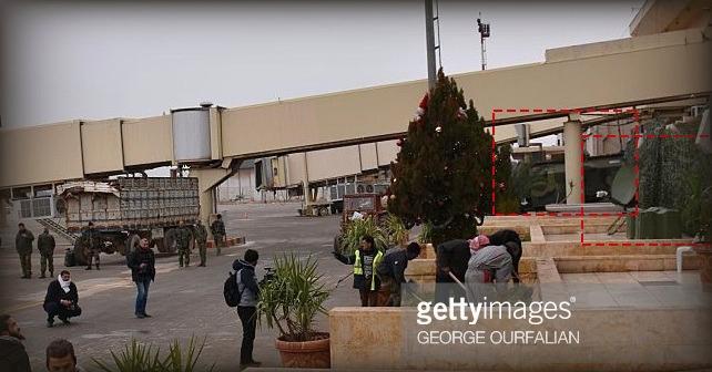 Ryssland använder Aleppo flygplats som en kommandocentral i Syrien