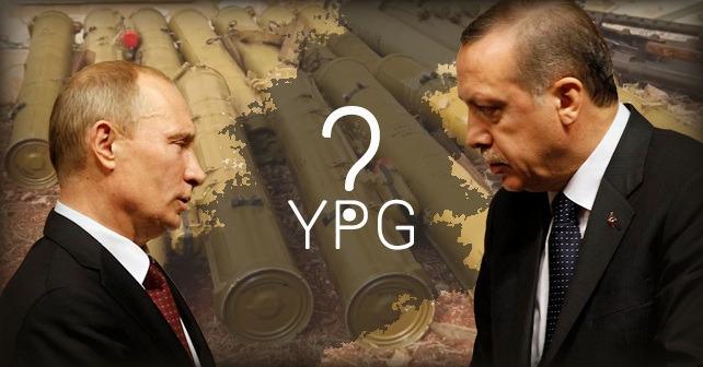 Ryssland levererar vapenutrustning till kurderna för att bekämpa den turkiska armén