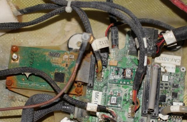 Orlan10 kontrollsystem i detalj