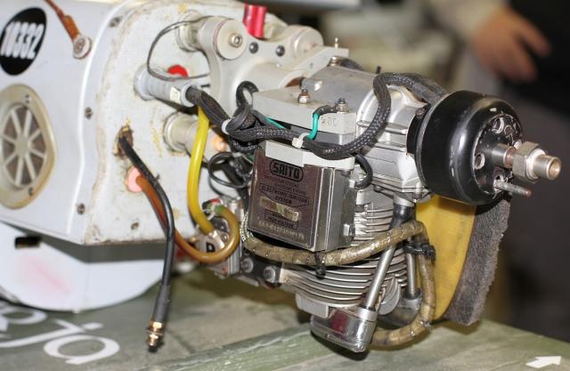Orlan10 motor og tenningsmodul