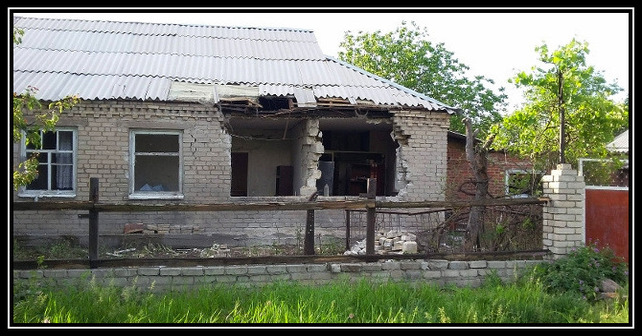 Intensiv artilleribeskjutning i Donbass från den ryska hybridarméns sida