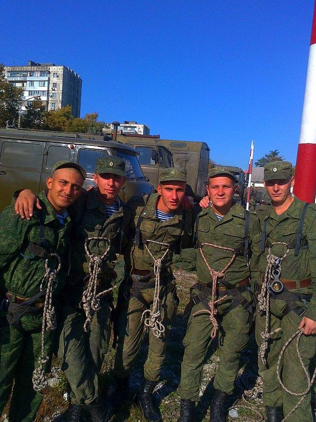 Fallskjermjeger Tjumak fra det 108. luftangrepregimentet