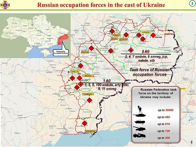 Ukrayna AGİT'e Rusya'nın sınırlarına yakın askeri potansiyeli hakkında istihbarat verdi
