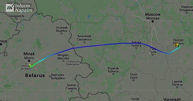 İl-76MD, Rusya ve Beyaz Rusya arasında uçuşlar gerçekleştiriyor
