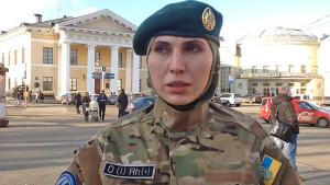 Амина Окуева ( Джохар Дудаев исемендәге батальон)
