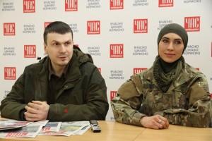 Адам Осмаев һәм Амина Окуева